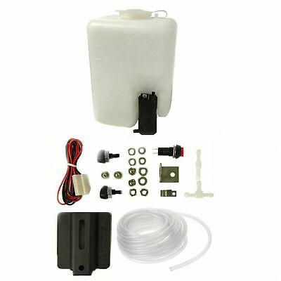 AP Automotive Universal Windscreen Washer Bottle & Pump With Fitting Kit 12v Car • 11.90£
