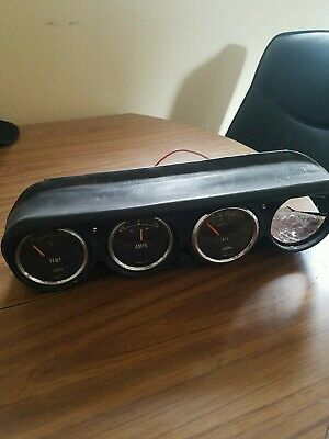 Cluster Of Dials Temp Amps And Oil Singer Gazelle?  • 20£