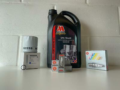 OE SERVICE KIT VAUXHALL ASTRA VXR / GSI With MILLERS 10w40 OIL WITH NGK PLUGS • 74£