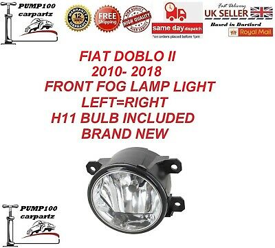 Fiat Doblo Ii 2010-2018  Front Fog Lamp Light Left Or Right & H11 Bulb Included • 25.34£