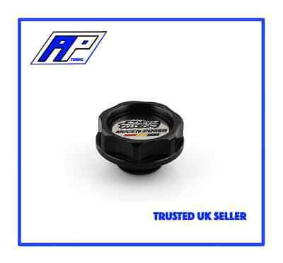 BLACK Mugen Style Aluminium Oil Filler Cap - Free Delivery - Same Day Shipping • 14.99£