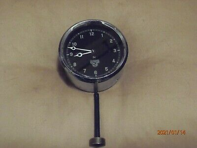 Vintage Smiths Car Clock,1930s, 8-day, Working Well. • 10.50£