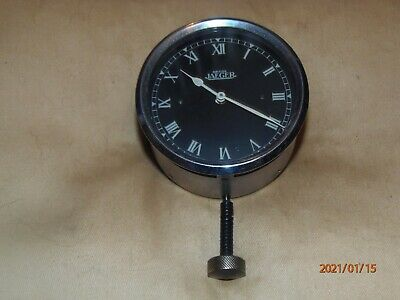 Vintage Jaeger Car Clock, 1930s, 8-day, Working Well. • 9.50£