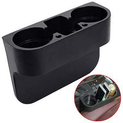 Universal Dual Car Seat Cup Phone Holder Storage Drink Bottles Mug Mount Stand • 6.94£