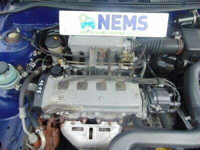1998 Toyota Starlet 1.3 Petrol Engine & Gearbox Complete 4E-FE ** Low Mileage ** • 360£