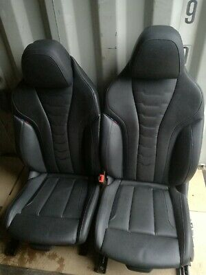 BMW 8 Series G15 G16 Black M Sport Leather Seats With Door Cards • 1,200£