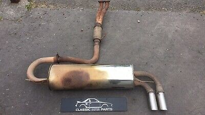 TOYOTA MR2 Mk1 Stainless Steel Complete Exhaust System Upgrade. • 250£