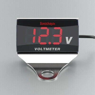 DC 10-150V Digital Electric Voltage Volt Display Voltmeter For Motorcycle Car • 7.65£