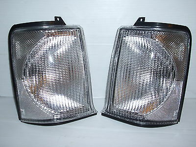 Land Rover Discovery 2 Front Indicator Clear Lamps / Lights 98 > 03 - New Pair  • 33.99£