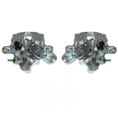 Pair Rear Brake Calipers Fits: Ford Escort Cosworth 90-95 Bbk0015a • 164.95£