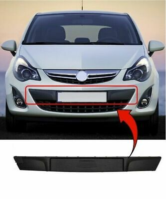 Vauxhall Corsa D 2011>2014 Front Bumper Plate Holder Moulding Grille Backing New • 38.49£