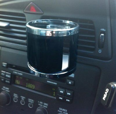 Streetwize Vent Fit Car Van Motorhome Vehicle One Can Cup Drink Holder - BLACK • 6.95£
