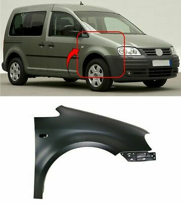 Vw Caddy 2004-2010 Front Wing Primed Driver Side Insurance Approved High Quality • 45.97£