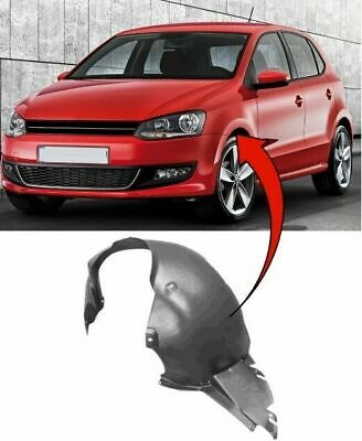 Vw Polo 2009-2017 Front Wing Arch Liner Splash Guard Passenger Side Complete • 18£