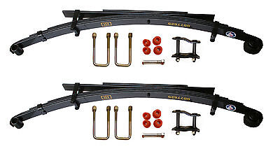 Pair Of Rear Leaf Springs + Kits For Toyota Hilux MK5 KDN165 2.5 D4D 01-05 (4+2) • 191.50£