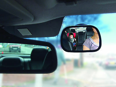 Forward Facing Kids, Baby Seat & Child Car Interior Rear View Safety Mirror -New • 6.95£