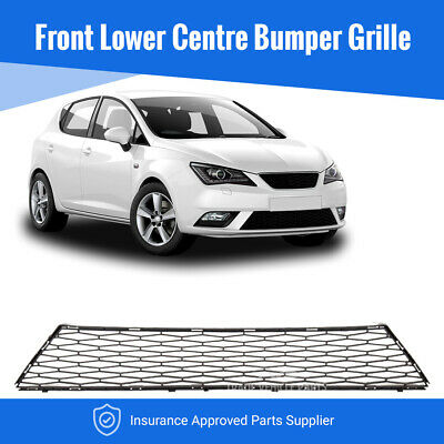 Seat Ibiza 2012-2017 Front Lower Centre Bumper Grille Insurance Approved New • 19.44£