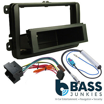 FP-17-03 Car Stereo Single Din Fascia & Fitting Kit To Fit VW Golf 2004-2008 MK5 • 13.65£