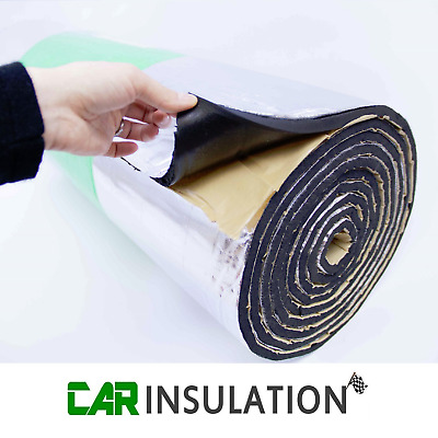 2m² GlassMAT™ Engine Insulation Exhaust Heat Thermal Glass Sound Proofing Car  • 36.99£
