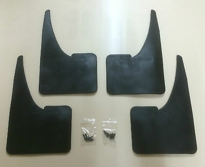 UNIVERSAL Car Mudflaps For FORD Rubber Mud Flaps SET Of 4 • 12.59£