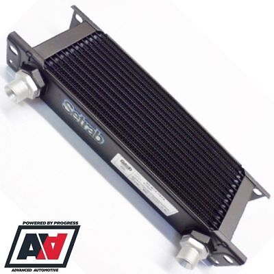 Setrab Oil Cooler 13 Row 235mm Matrix Dash 6 AN6 Fittings 50-613-7612 ADV • 100.94£