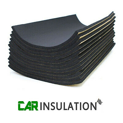 24 Sheets 10mm Classic Car Van Sound Proofing Deadening Vehicle Insulation Foam • 29.99£