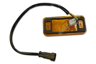 Iveco Daily Side Marker Amber Light Lamp Lens With Wire And Bulb Holder 2006 On • 13.50£