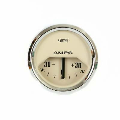 Smiths Classic Magnolia 52mm Ammeter • 50£