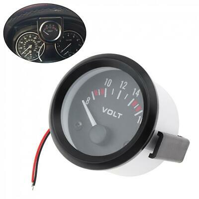 2'' 52MM Mechanical Voltmeter Volt Voltage Meter Gauge LED 12V Car Auto Boat • 6.14£