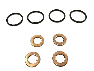 For Audi Vw 1.6tdi 2.0tdi 3.0tdi Injector Seal Washer Set Cayb Cayc Bug Casa 4l • 15.97£
