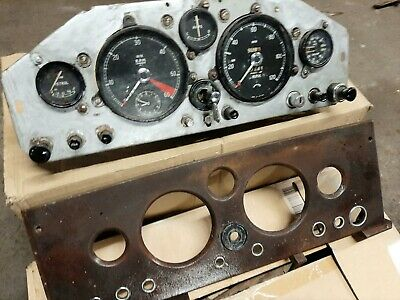 Jaguar Mk1 Complete Centre Dash Panel With Instruments And Switches   1955/59 • 795£