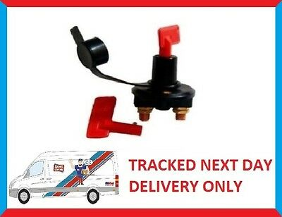 CAR BATTERY ISOLATOR ISOLATER Cut Out Switch 24v 12v 300A BOAT • 13.92£