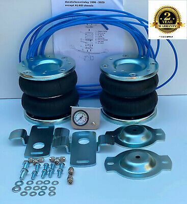 Air Suspension Kit Fiat Ducato 1994 - 2020 Recovery Motorhome Dropside Luton • 248£