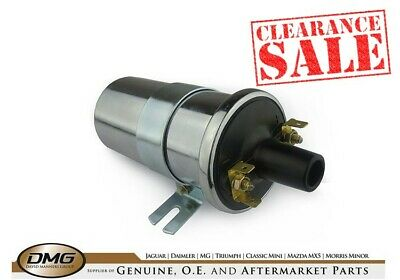 CHROME High Energy Electronic Coil DLB198 Equivalent MGB Mini Land Rover Triumph • 14.95£