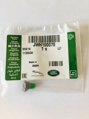 New JWH100070 Green Bulb & Holder For Land Rover Discovery 2 (98-04) Genuine LR • 8.95£