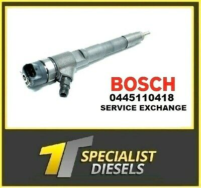 0445110418 Fiat Ducato 2.3 Boxer Relay Iveco - Bosch Injector  • 120£