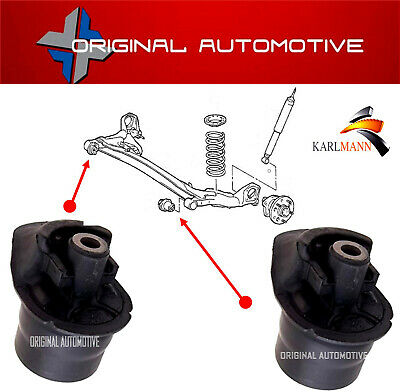 For TOYOTA COROLLA 2001-2007 REAR AXLE TRAILING SUSPENSION CROSSMEMBER BUSHES • 45£