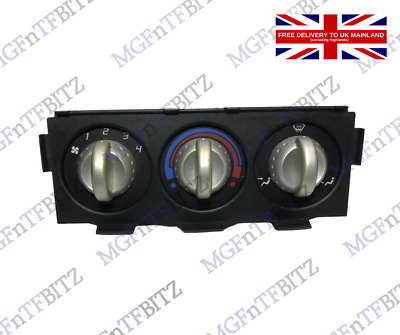 Mg Tf Heater Controller With Silver Knobs Jfc000450pma * Free Uk Delivery * • 24£