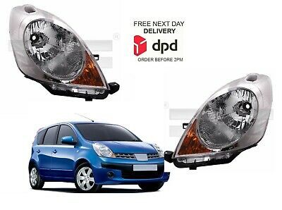 Fits Nissan Note 2006-2009 Headlight Headlamp Pair Sewt Both Right Left • 153.50£