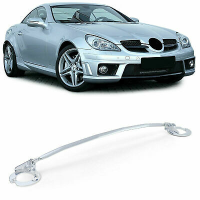 Aluminum Strut Dome Bar Front 3-part Adjustable For Mercedes SLK R171 04-11 • 149£