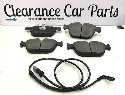 FOR BMW X5 X6 3.0 Diesel Petrol FRONT BRAKE PADS AND SENSORS 2006 To 2014 E70 71 • 49.95£