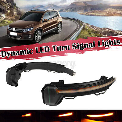 For VW Tiguan MK2 Touareg MK3 Sequential LED Side Mirror Indicator Light  • 26.77£