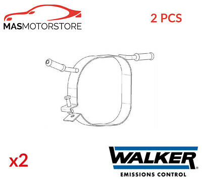 Exhaust Hanger Mounting Support Walker 80595 2pcs I New Oe Replacement • 40.95£