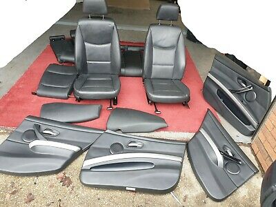 2008 Bmw 3 Series E91 Complete Leather Seats With Door Cards • 199.99£