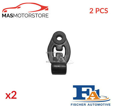 Exhaust Hanger Mounting Support Front Fischer 743-916 2pcs G New Oe Replacement • 19.95£
