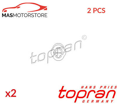 Exhaust Hanger Mounting Support Middle Silencer Topran 104 183 2pcs G New • 14.95£