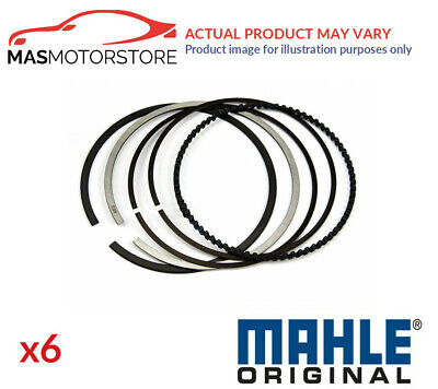 Engine Piston Ring Set Mahle 030 74 N0 6pcs G Std New Oe Replacement • 90.95£
