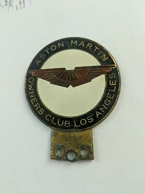 Aston Martin Owners Club Los Angeles - Grill Badge - USA • 21.80£
