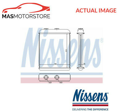 Heater Radiator Exchanger Lhd Only Nissens 72662 P For Opel Astra G,astra H • 48.85£