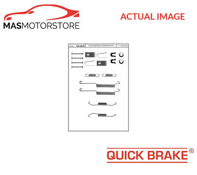 Brake Drum Shoes Fitting Kit Rear Quick Brake 105-0679 P New Oe Replacement • 18.95£